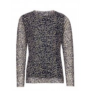 The New Oprah L_s Top Blus Tunika Multi/mönstrad The New