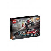Lego Technic - Stunt-Show mit Truck und Motorrad 42106