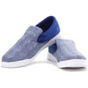 REEBOK COURT SLIP ON Men Loafers For Men(Blue, White)