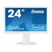 Iiyama B2480HS-W2 LED-monitor 59.9 cm (23.6 inch) Energielabel A (A+ - F) 1920 x 1080 pix Full HD 1 ms HDMI, VGA, DVI TN LED