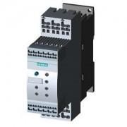 Lágyindító 32A, motor hővédelemmel, 3f 7.5-15Kw 200-480V motorokhoz, 24V AC/DC vezérlő feszültség, rugós csatlakozás, S0 méret (Siemens 3RW4027-2TB04)