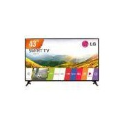 Smart TV LG LED 43' Full HD 43LJ551C Preto - 2 HDMI, 1 USB, WIFI Integrado, Modo Hotel