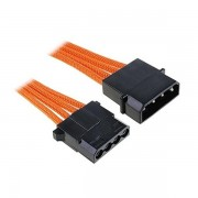 Bitfenix Alchemy Molex Extension Adaptor 45cm - Orange