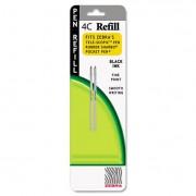 Refill For Styluspen Twist And 4c Pocket Pens, Fine, Black Ink, 2/pack