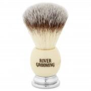 River Grooming Weißer Rasierpinsel
