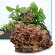 Feuilles pétrifiées - kit 60 cm : 9 pierres naturelles