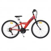 Детско колело Cross Rocky 24'' червено