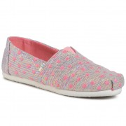 Обувки TOMS - Classic 10015285 Pink Multi Heartsy