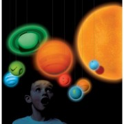 Smithsonian Solar System Full Color 3-d Glow-in-the-dark Educational Tool