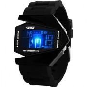 Skmei Luxury Black Strap Full Digital Watch - Men 6 month warranty
