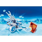 Joc Playmobil Fire Ice Action Frosty si lansator de discuri