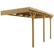 Jardipolys Carport en bois Mezzo 11 - 5.00 x 3.00 m