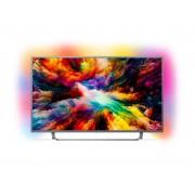 Televizor LED Philips 55PUS7303/12, Smart TV, Android TV, 139 cm, 4K Ultra HD, Argintiu