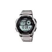 Relógio Masculino Casio Esportivo Hora Muldial 48 Cidades AE-1000WD-1AVDF