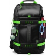 HP 15.6 inch Laptop Backpack (Black, Grey) Laptop Bag(Black, Green)