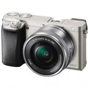 Sony Alpha A6000 + 16-50mm - Argento - 2 Anni Di Garanzia