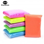 500g Dynamic Sand 6Colors Polymer Clay Amazing Diy Plasticin Educational Toys For Childred Sands Polymer Clay For Kids