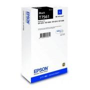 Epson T7561 Patron Black 2,5K (Eredeti) 50ml tintapatron WF-8010DW WF-8090DW WF-8510DWF WF-8590DWF WF-R8590DTWF WF-8090 D3TWC WF-8090 DTW WF-8590 D3TWFC WF-8590 DTWF WF-R8590 D3TWFC