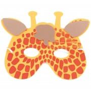 EB 12pcs/Set EVA Divertidos Dibujos Animados Los Niños Máscaras De Animales Dress Up Parte Suministros