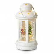 Glitter-filled decorative lantern Cosy LED white