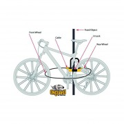 Candado Para Bicicleta Onguard 8005 Pitbull U-lock Con Cable Nivel 85