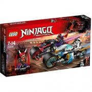 Set de constructie LEGO Ninjago Cursa Sarpelui Jaguar