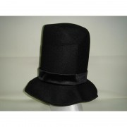 Cappello tuba nero