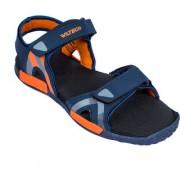 Asian Photon-02 Navy Orange Stylish Sandals For Men