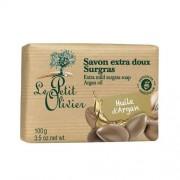 Le Petit Olivier Săpun delicat Ulei de argan (Extra Mild Surgras Soap) 100 g