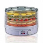 Сушилня за плодове и зеленчуци Sapir SP 1451 A5, 250W, 35°C-70°C, 5 нива, подходяща за гъби, месо и билки, Бял