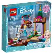 Set de constructie LEGO Disney Aventura Elsei la Piata