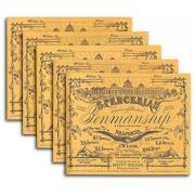 Spencerian Penmanship Set of 5 Copybooks, Paperback/Platt R. Spencer