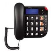 Telefone c/ Fio Icon Tok Facil com ID - Intelbras
