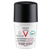 Vichy Deodorant roll-on Homme cu efect anti-urme, eficacitate 48h (Concentratie: Roll-On, Gramaj: 50 ml)