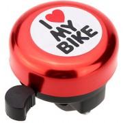 Futaba I Love My Bike Bicycle Bell - Red