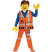 Deluxe Emmet Lego Movie 2™ kostuum voor kinderen - Verkleedkleding