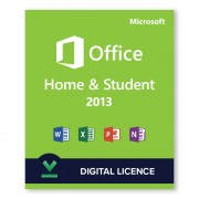 Microsoft Office 2013 Home and Student Digital Licence