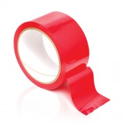 Fetish Fantasy Bondage Tape Glossy and Non Sticky - Wicked Red