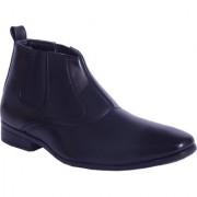 Shoebook Men's Black Stylish Boots