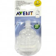 Philips Avent Sauger Airflex 1-Loch f.Neugeb.2x 2 St