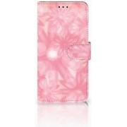 Huawei P30 Lite Uniek Boekhoesje Spring Flowers