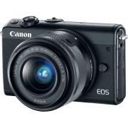 Digtalni foto-aparat Canon EOS M100, Set (Sa 15-45mm), Crna