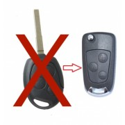 Carcasa transformare briceag cu 3 butoane compatibila Ford - lama dreapta