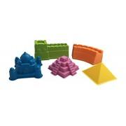 Buildings of the World Beach Toy Sand Mold Set - Egyptian Pyramid, Taj Mahal, Great Wall, Mayan Pyramid