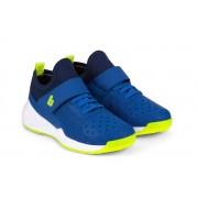 Pantofi Sport Baieti Bibi Sport Flex New Albastri/Galben Fosforescent