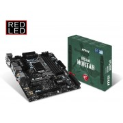 MSI B150M MORTAR Intel B150 LGA 1151 (Socket H4) Micro ATX moederbord