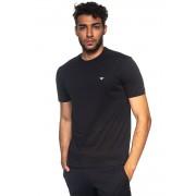 Giorgio Armani Set 2 T-shirts Nero Cotone Uomo