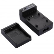 PULUZ 2-in-1 Digitale Camera batterij autolader voor de Canon LP-E10 batterij