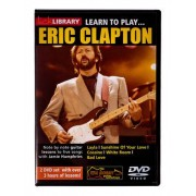 Music Sales Learn To Play Eric Clapton DVD