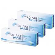 Johnson and Johnson 1 Day Acuvue Moist for Astigmatism (90 lentes) - Ótimos preços, entrega rápida!